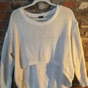 Hardly worn, white LF summer sweater